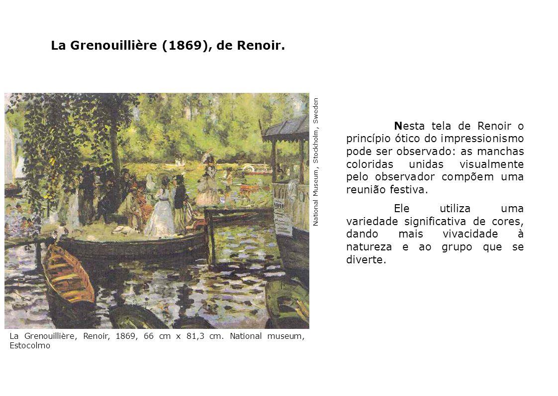 La Grenouillière (1869), de Renoir.