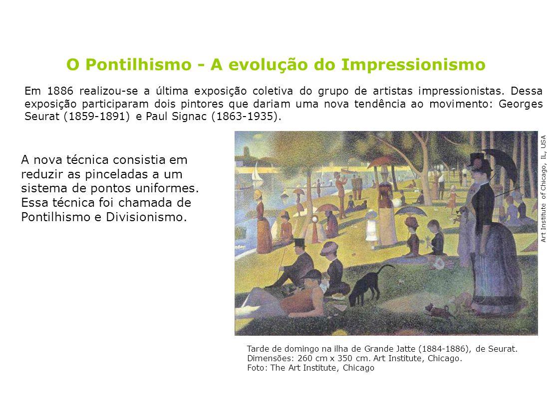 O Pontilhismo - A evolução do Impressionismo