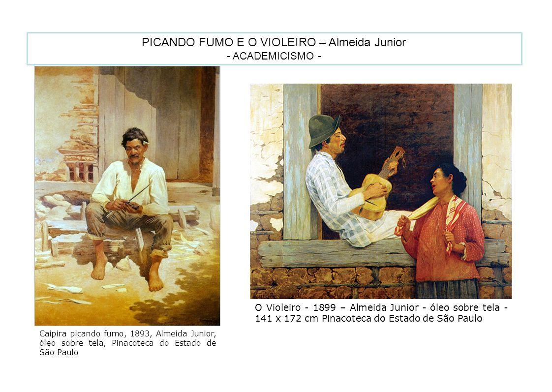 PICANDO FUMO E O VIOLEIRO – Almeida Junior
