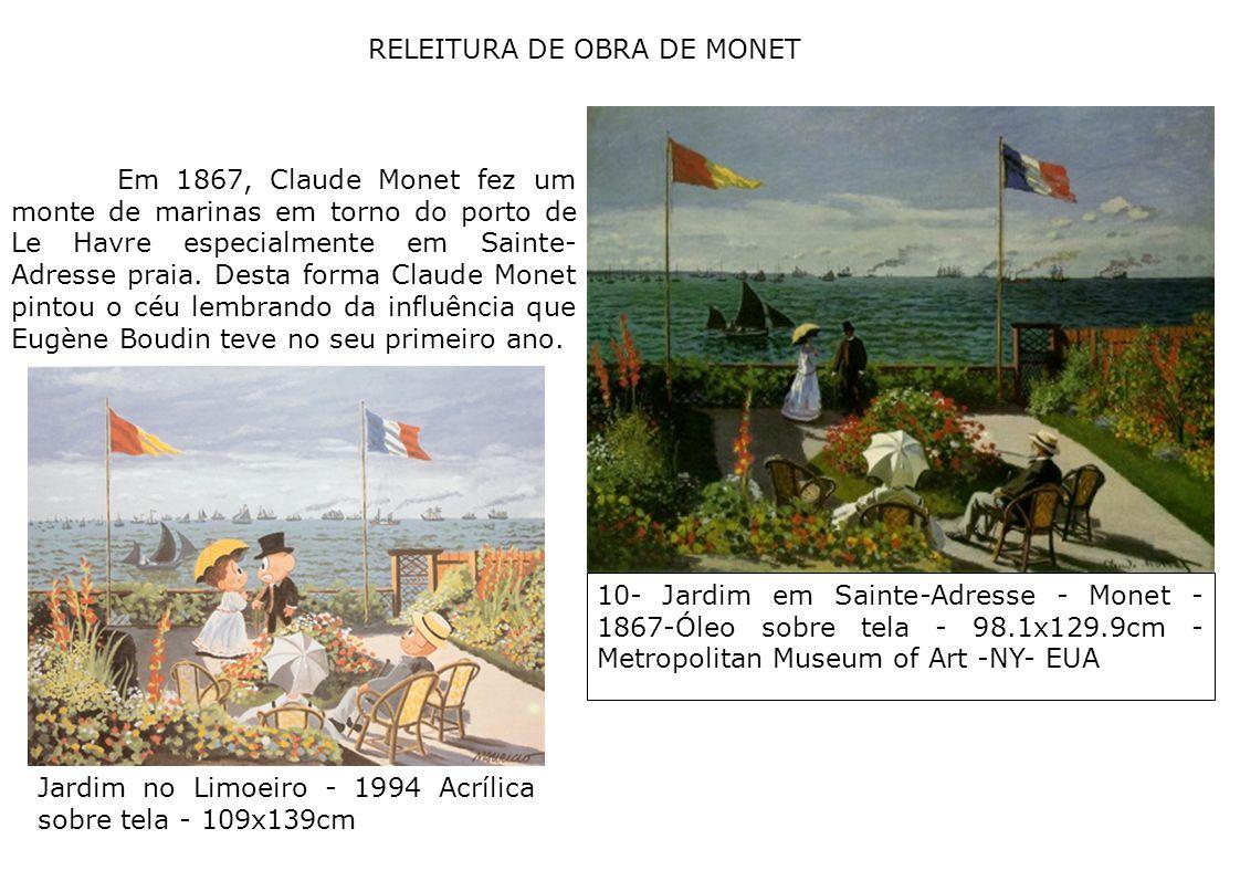 RELEITURA DE OBRA DE MONET
