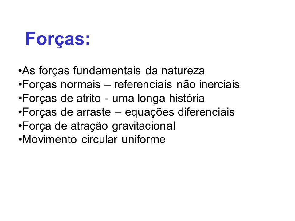 Forças: As forças fundamentais da natureza