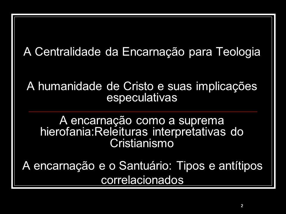 A encarnação e o Santuário: Tipos e antítipos correlacionados