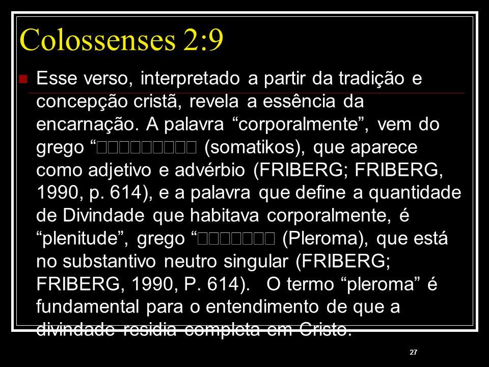 Colossenses 2:9