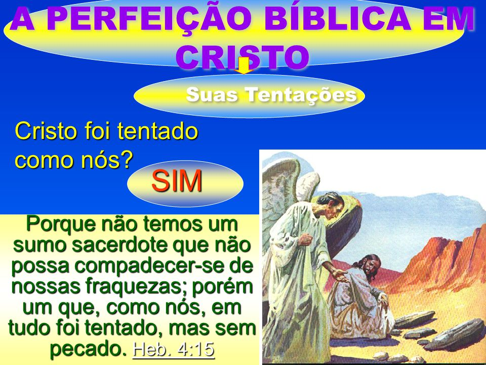 A PERFEIÇÃO BÍBLICA EM CRISTO