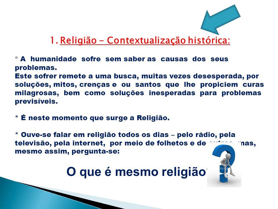 Religião - Contextualização histórica: