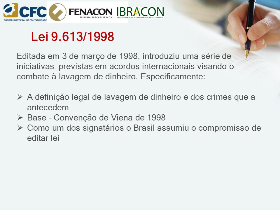 Lei 9.613/1998