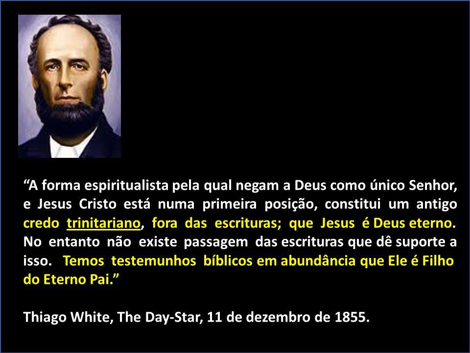 A forma espiritualista pela qual negam a Deus como único Senhor,