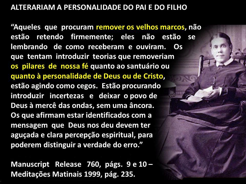 ALTERARIAM A PERSONALIDADE DO PAI E DO FILHO