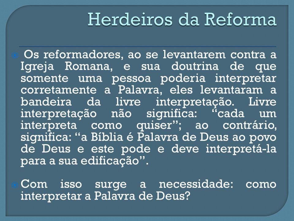 Herdeiros da Reforma