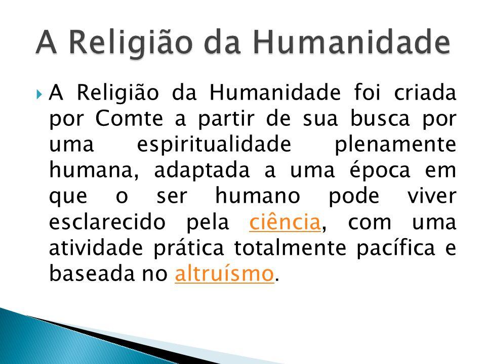 A Religião da Humanidade