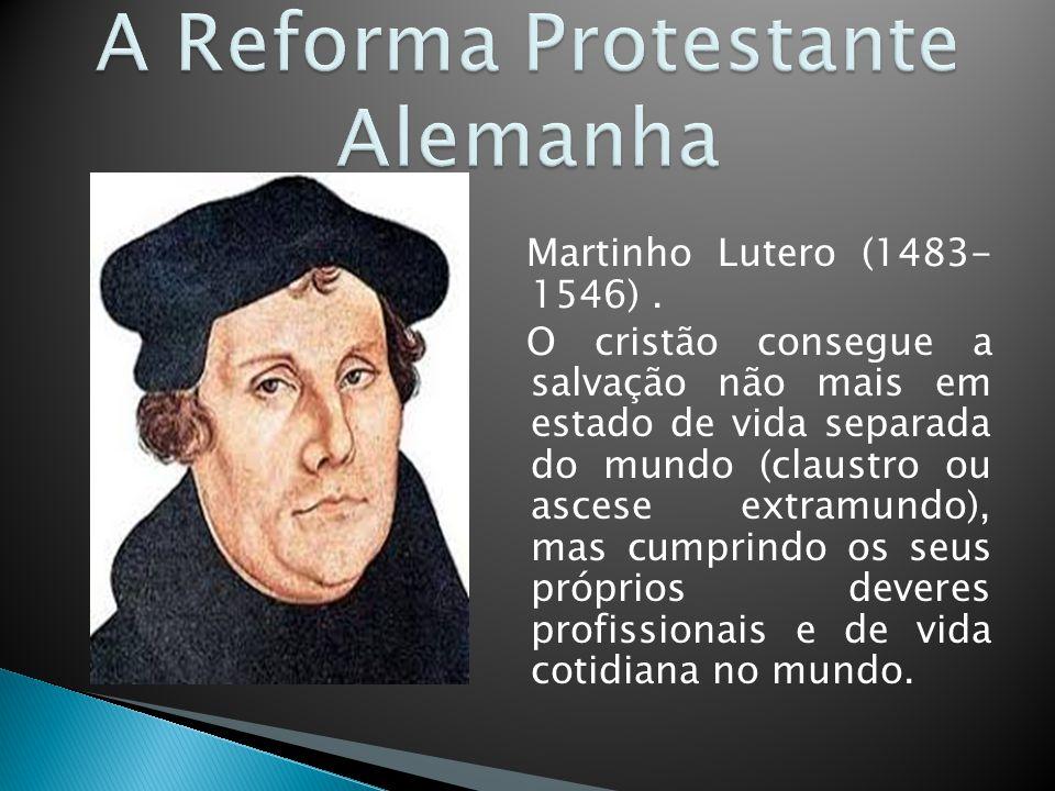 A Reforma Protestante Alemanha