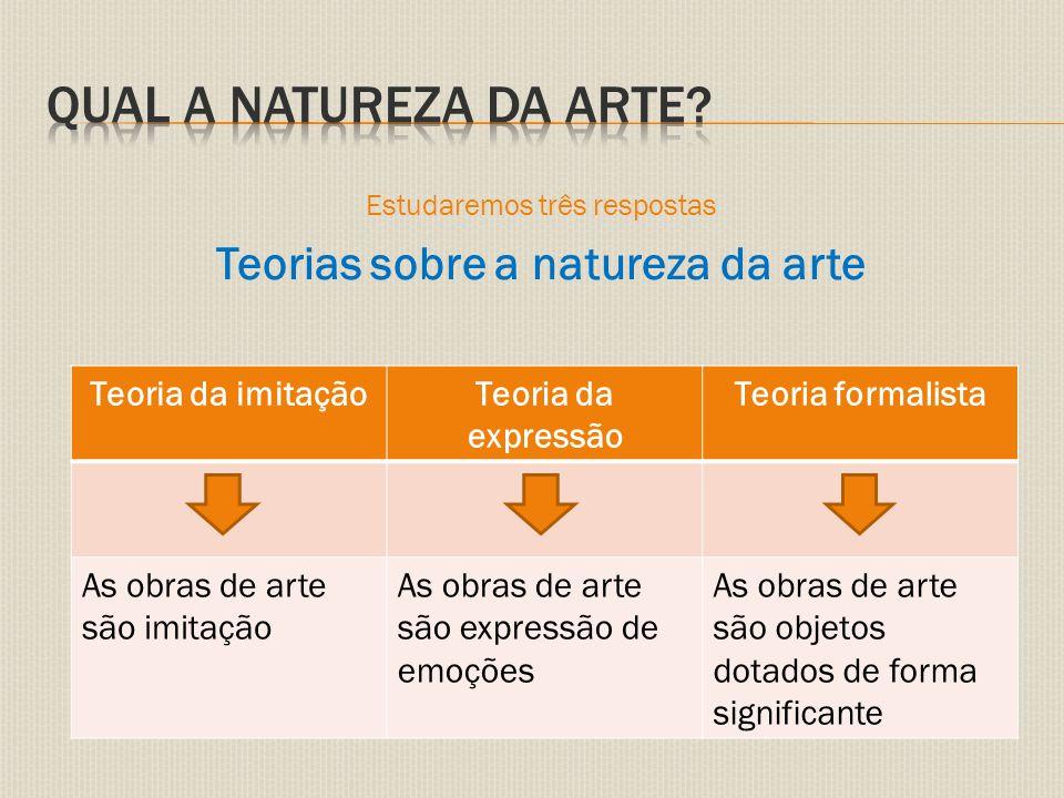 Teorias sobre a natureza da arte