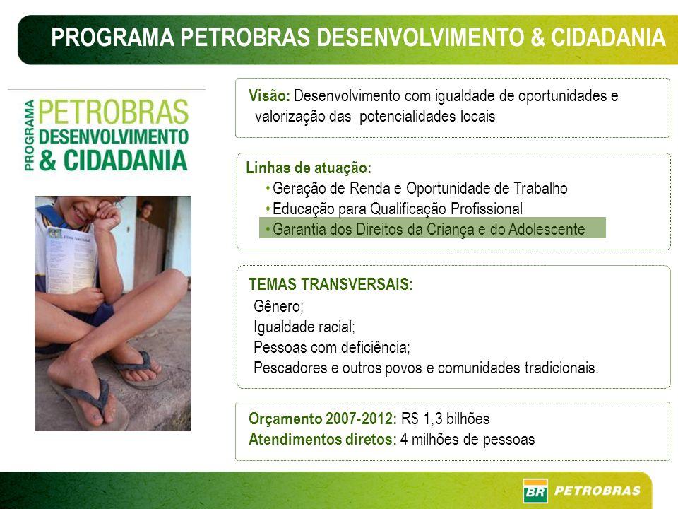 PROGRAMA PETROBRAS DESENVOLVIMENTO & CIDADANIA