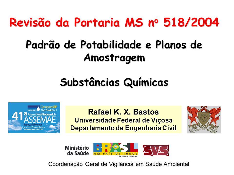 Revisão da Portaria MS no 518/2004