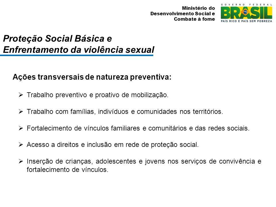 Proteção Social Básica e Enfrentamento da violência sexual