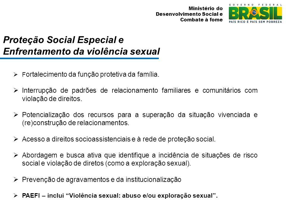 Proteção Social Especial e Enfrentamento da violência sexual
