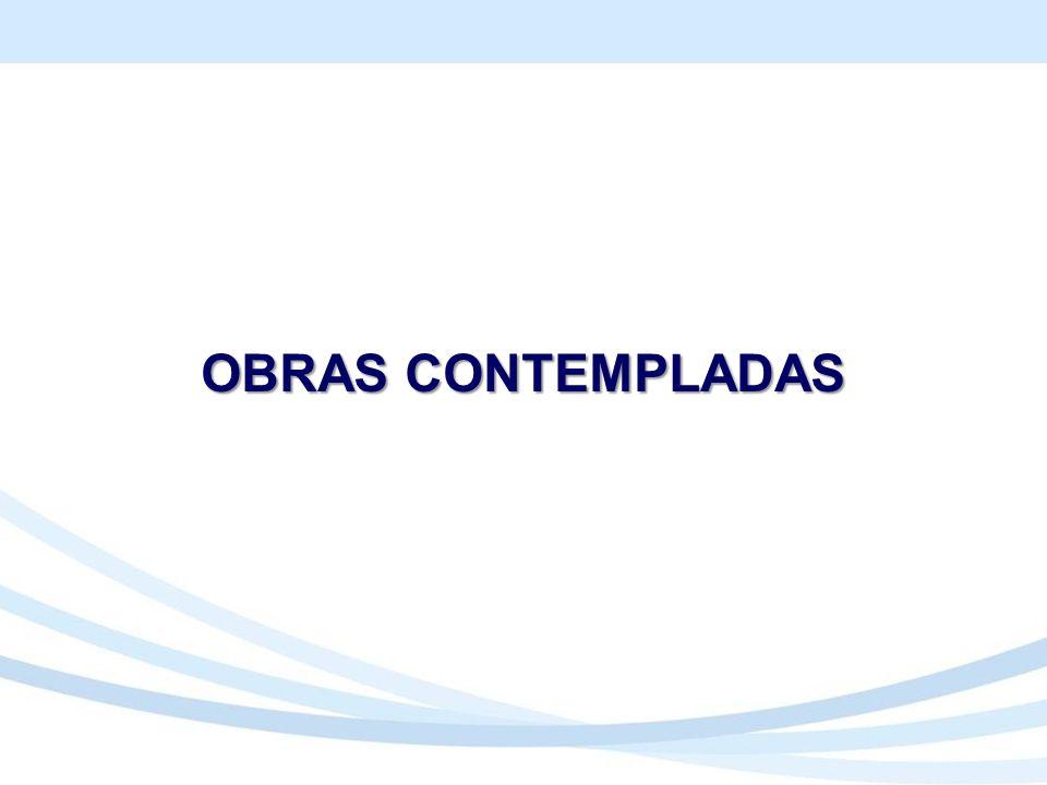 OBRAS CONTEMPLADAS