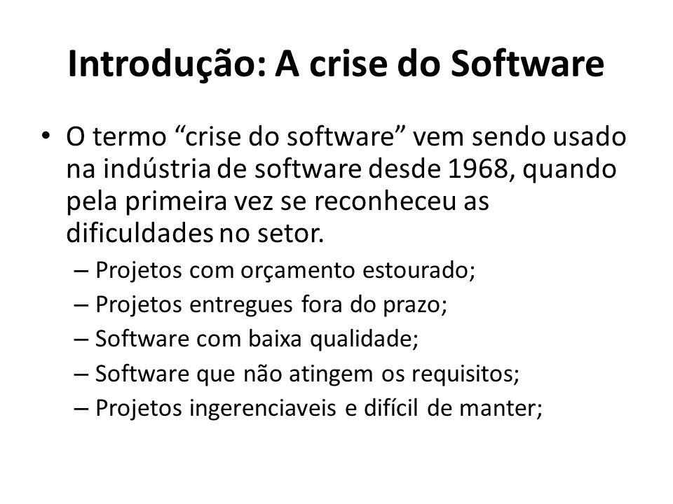 Introdução: A crise do Software