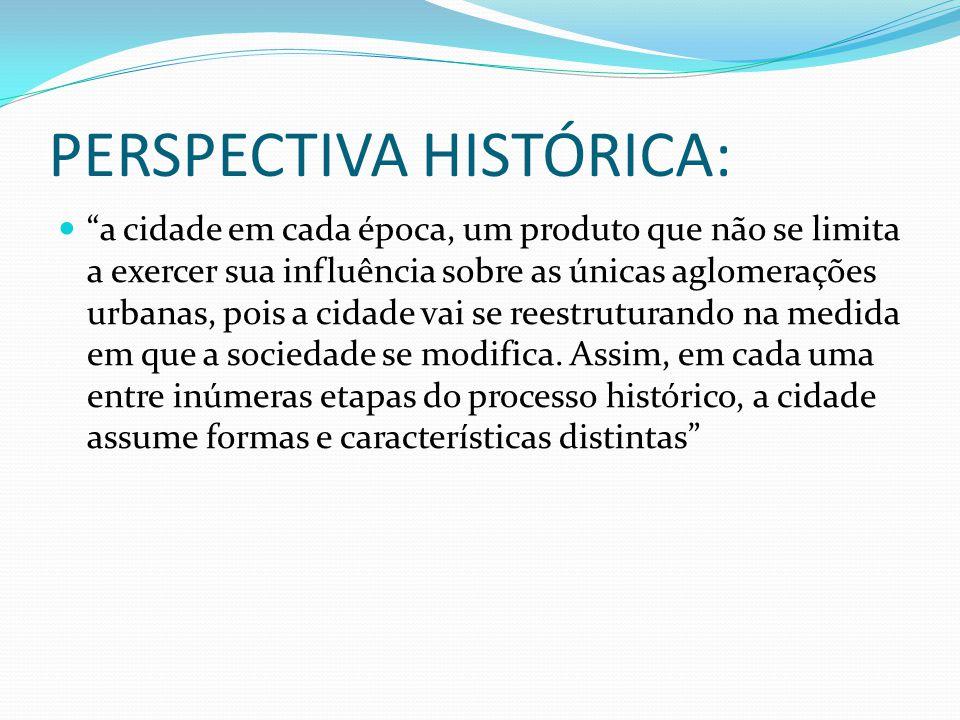 PERSPECTIVA HISTÓRICA: