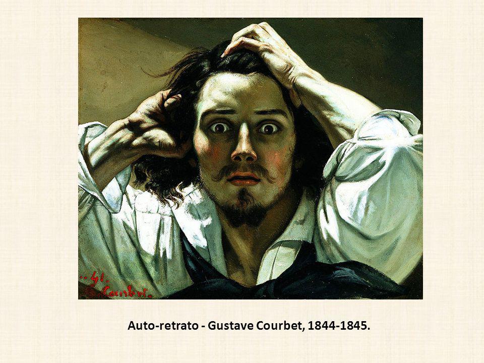 Auto-retrato - Gustave Courbet, 1844-1845.