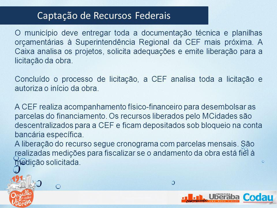 Captação de Recursos Federais