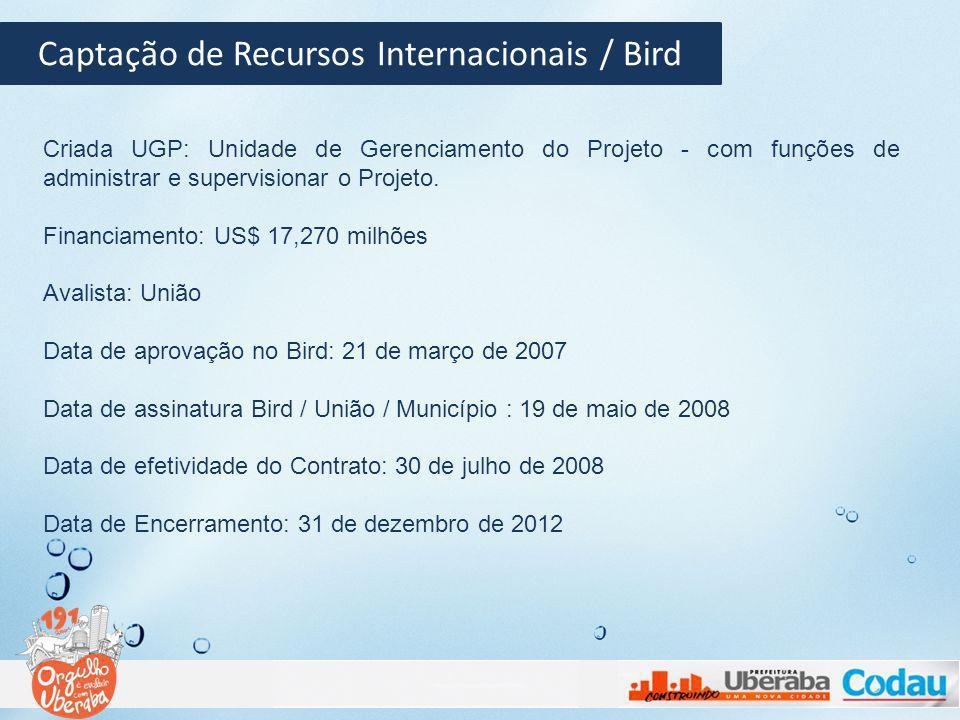 Captação de Recursos Internacionais / Bird