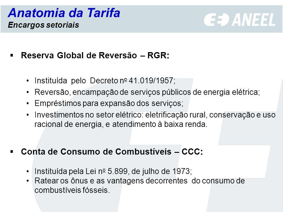 Anatomia da Tarifa Reserva Global de Reversão – RGR: