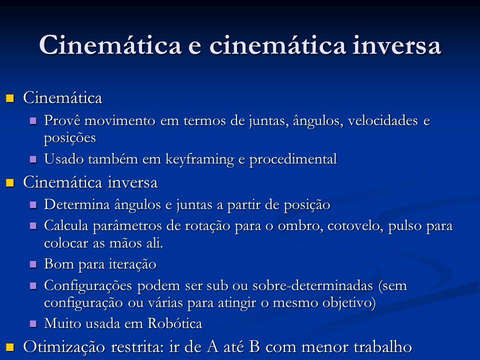 Cinemática e cinemática inversa