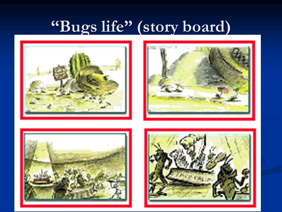 Bugs life (story board)