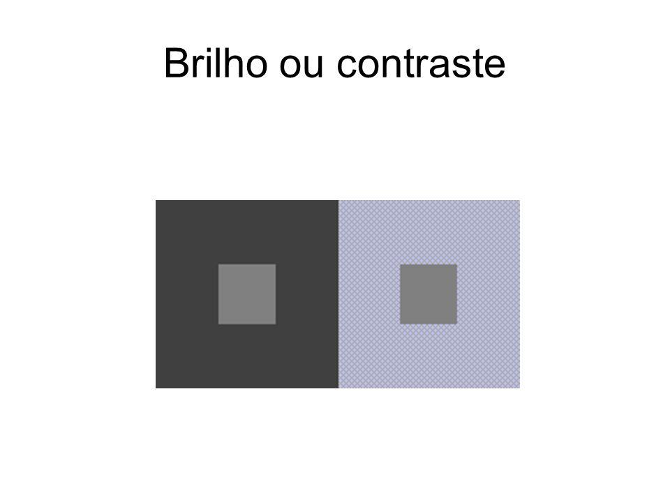 Brilho ou contraste