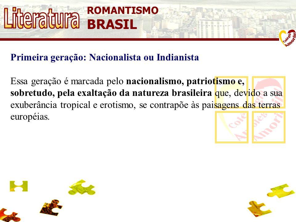Literatura BRASIL ROMANTISMO