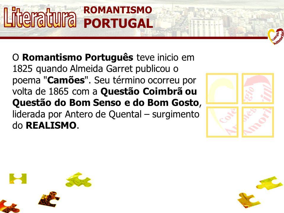 Literatura PORTUGAL ROMANTISMO
