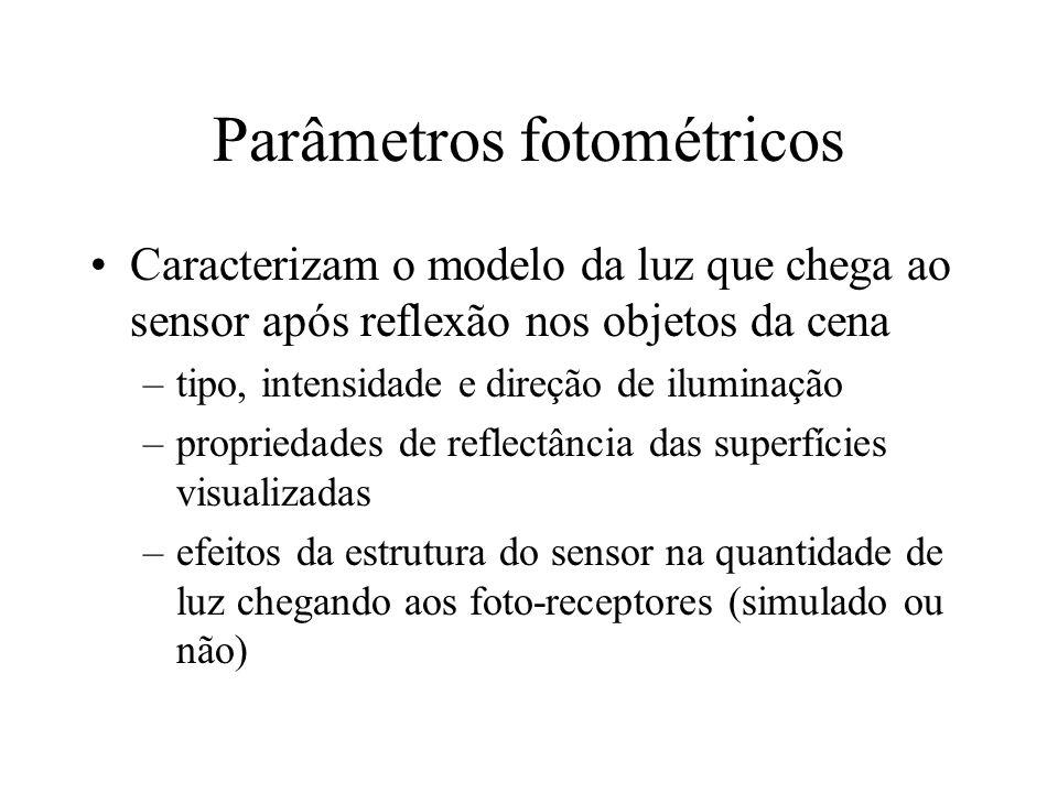 Parâmetros fotométricos