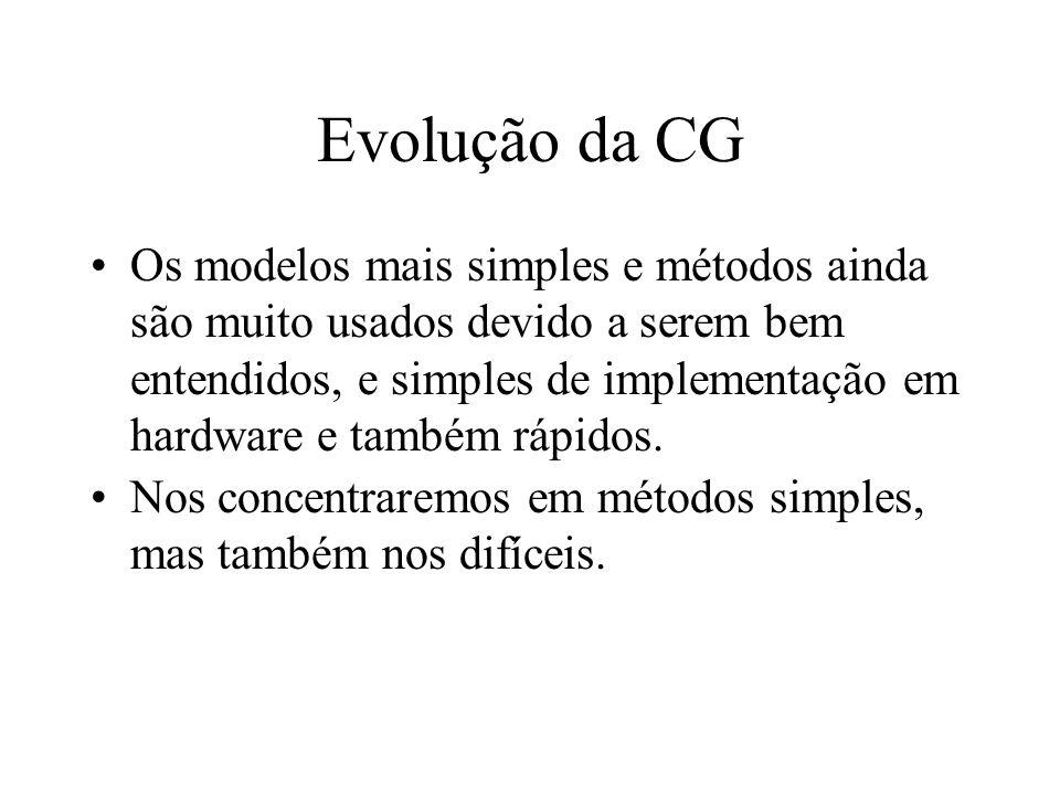 Evolução da CG