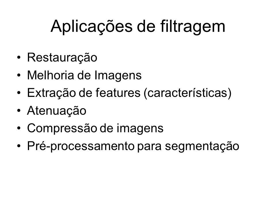 Aplicações de filtragem