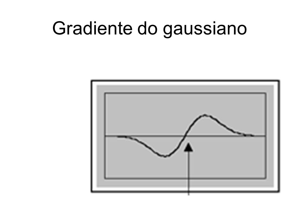 Gradiente do gaussiano