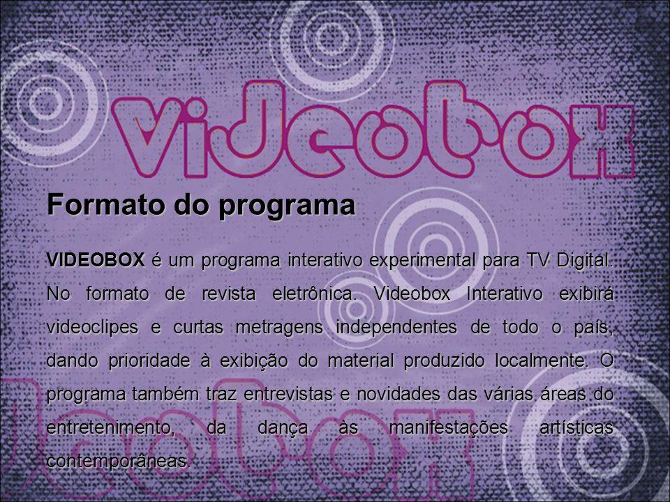 Formato do programa