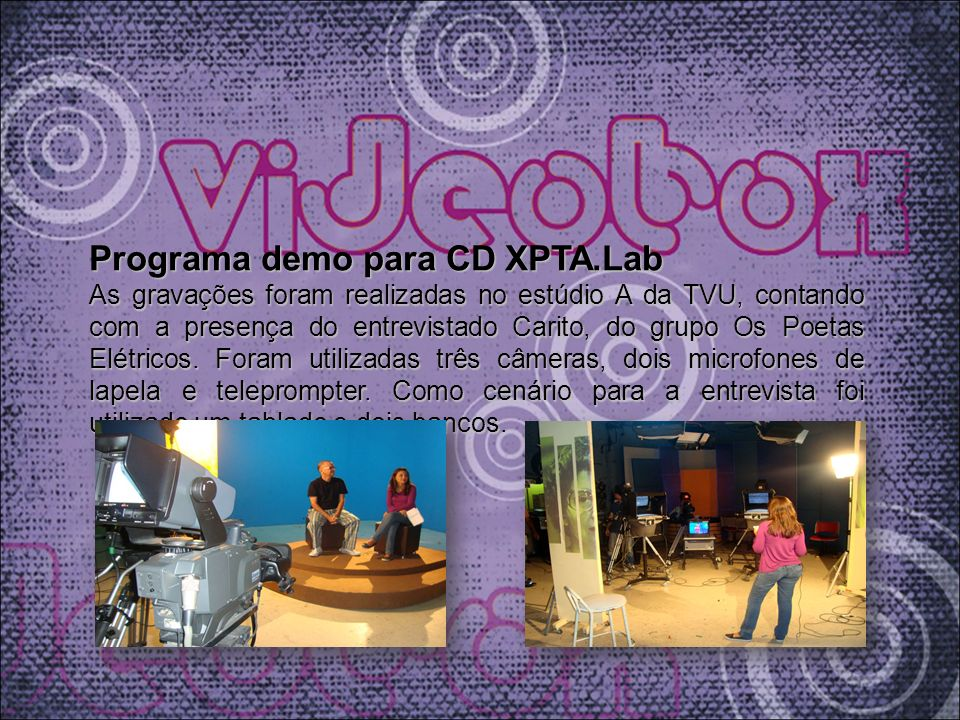 Programa demo para CD XPTA.Lab