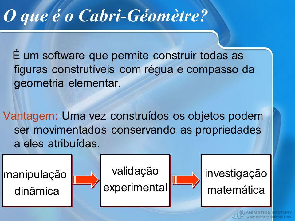 O que é o Cabri-Géomètre