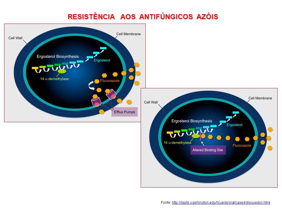 RESISTÊNCIA AOS ANTIFÚNGICOS AZÓIS
