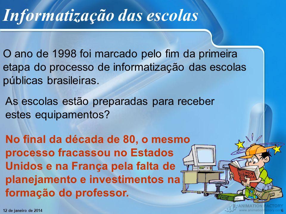 Informatização das escolas