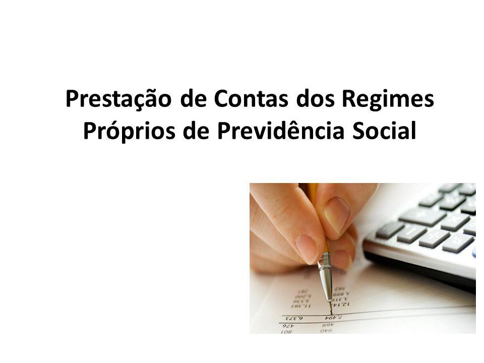 Prestação de Contas dos Regimes Próprios de Previdência Social