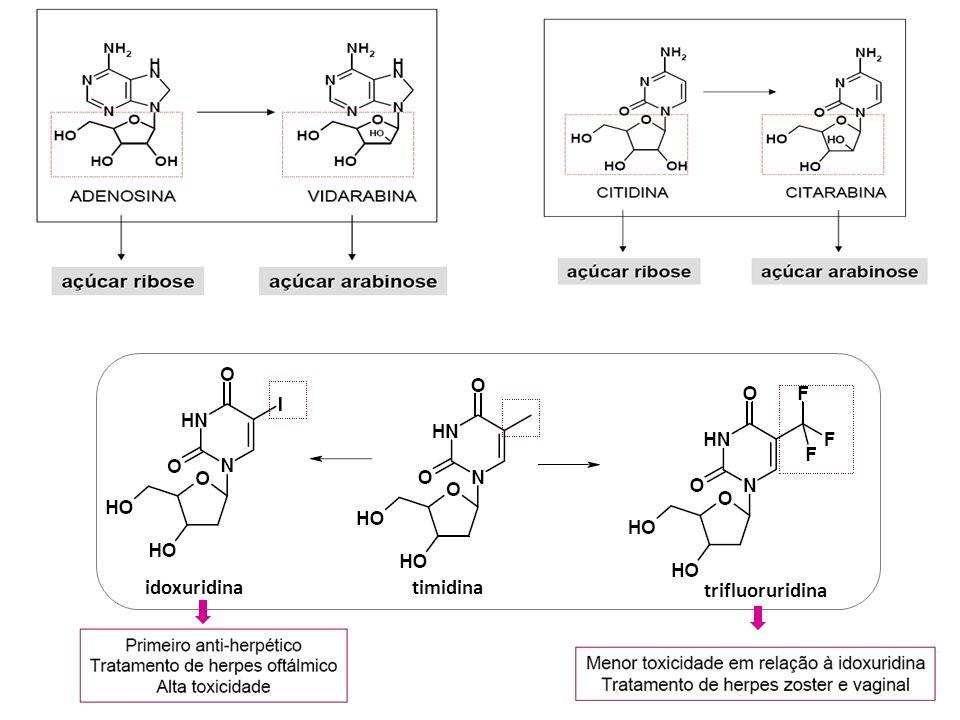 idoxuridina timidina trifluoruridina