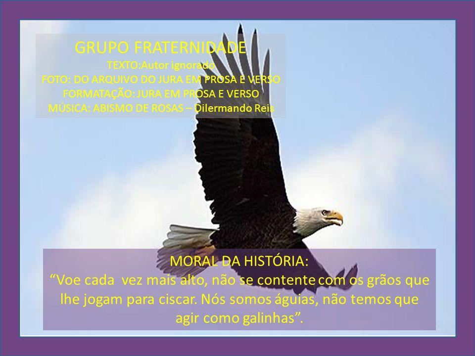 GRUPO FRATERNIDADE MORAL DA HISTÓRIA: