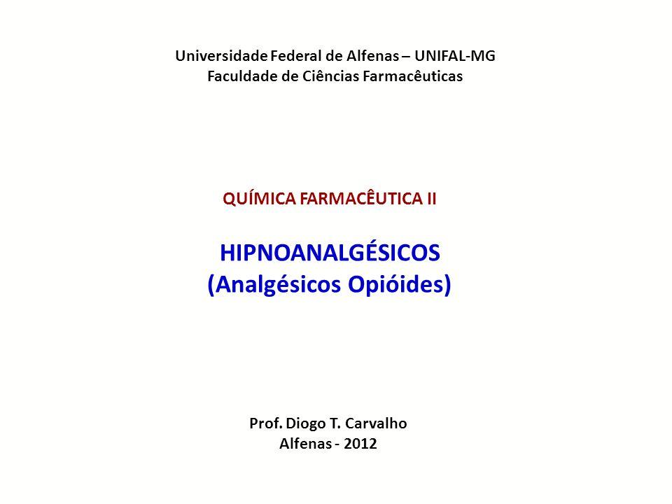 HIPNOANALGÉSICOS (Analgésicos Opióides)
