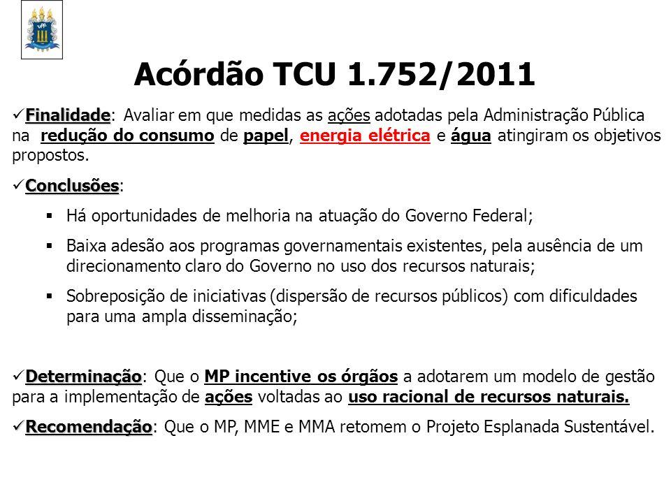 Acórdão TCU 1.752/2011