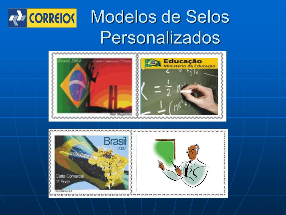 Modelos de Selos Personalizados