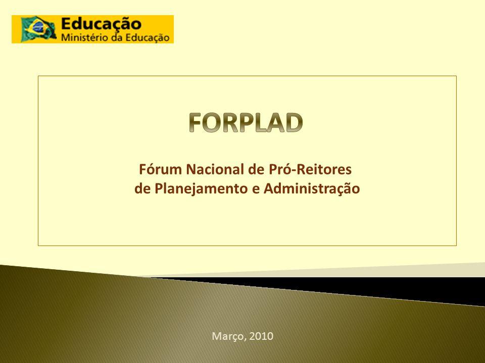 Fórum Nacional de Pró-Reitores de Planejamento e Administração
