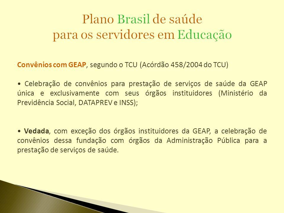 Plano Brasil de saúde para os servidores em Educação