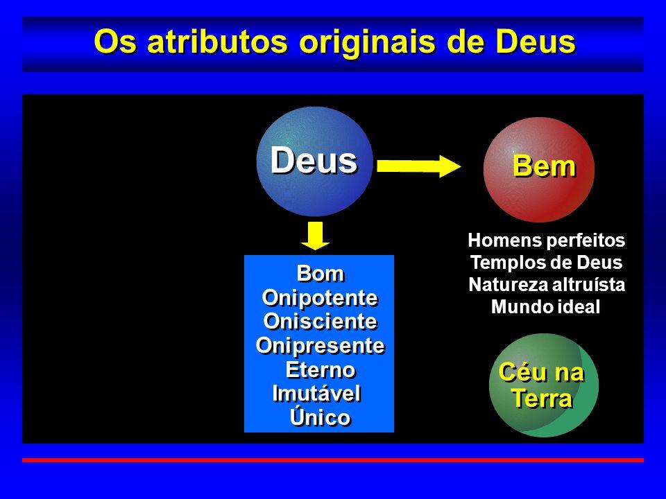 Deus Os atributos originais de Deus Bem Céu na Terra Bom Onipotente